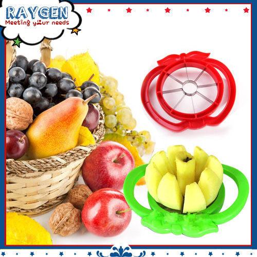 雙把手不鏽鋼切蘋果器水果分割器去核蘋果切不挑色