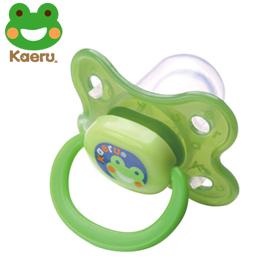 【佳兒園婦幼館】哈皮蛙 Kaeru  拇指初生型安撫奶嘴 1入