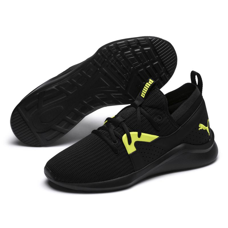 Puma Running 男女 黑 運動鞋 慢跑鞋 彈性中底 健身 跑步 透氣 休閒鞋 19234601