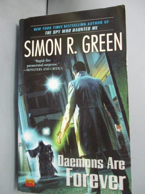 【書寶二手書T1/原文小說_GMC】Daemons Are Forever_Green, Simon R.