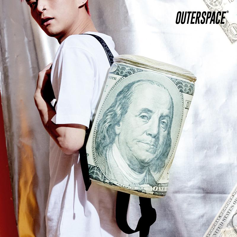 OUTER SPACE HIP HOP!老子有錢兩用背包(小)