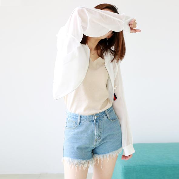 超豐國際W街頭織帶掛件網紗棒球服外套女7