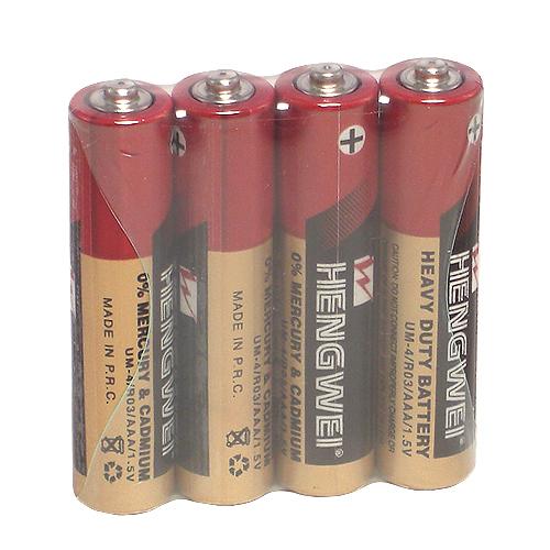 情趣用品女王 【HENGWEI】4號環保碳鋅電池(4顆入)