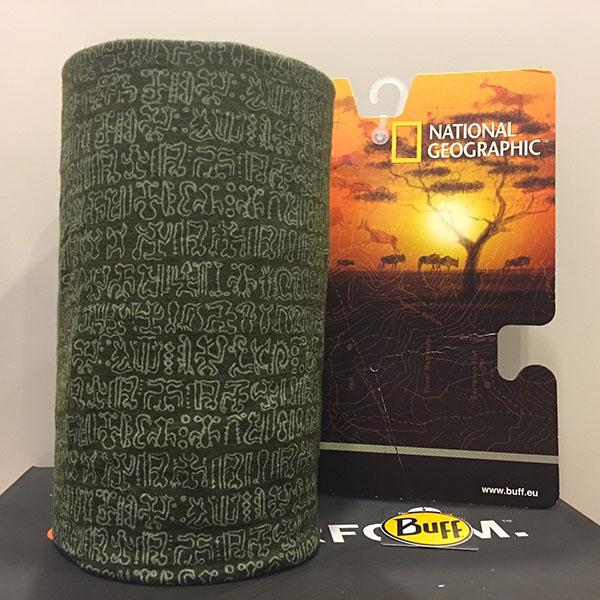 Buff Original 西班牙保暖頭巾 100%美麗諾羊毛- 復活島古文 (BF107636)