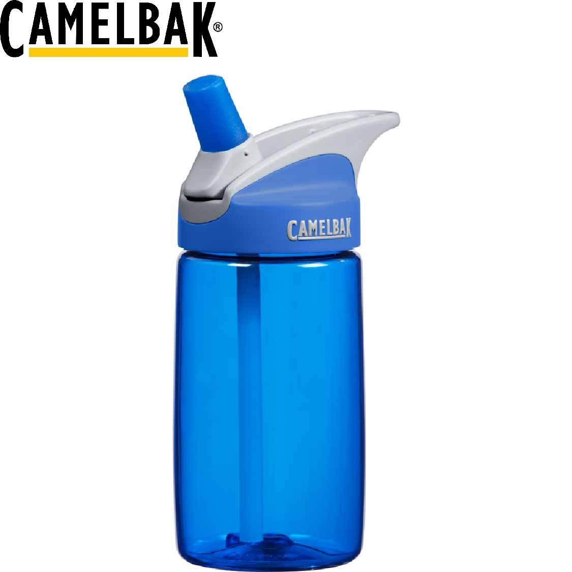 CamelBak美國400ml兒童吸管運動水瓶藍兒童水壺運動水壺水壺登山露營53187