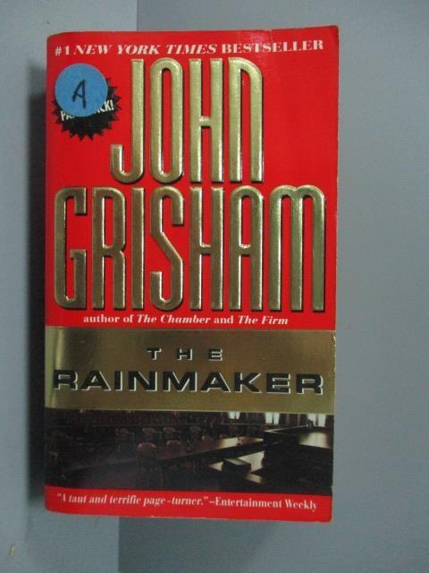 【書寶二手書T7/原文小說_JQI】The Rainmaker_John Grisham