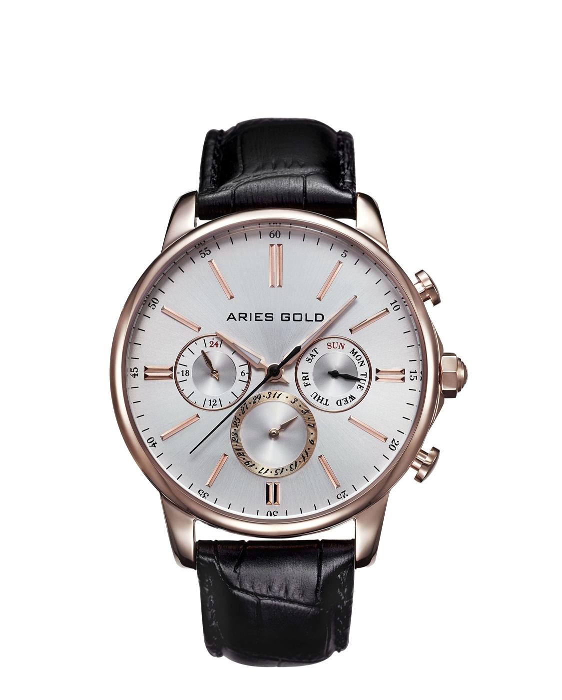 ★Aries Gold★-雅力士手錶-KENSINGTON-G 102 RG-SRG-錶現精品公司-原廠公司貨