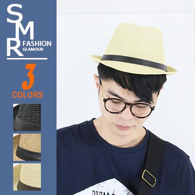 紳士帽-A皮扣環素紳士帽-悠閒簡約必備款9971-251黑色.卡其色.米色現貨預購SMR