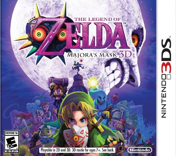 3DS The Legend of Zelda:Majora s Mask 3D薩爾達傳說:穆修拉的面具3D美版代購