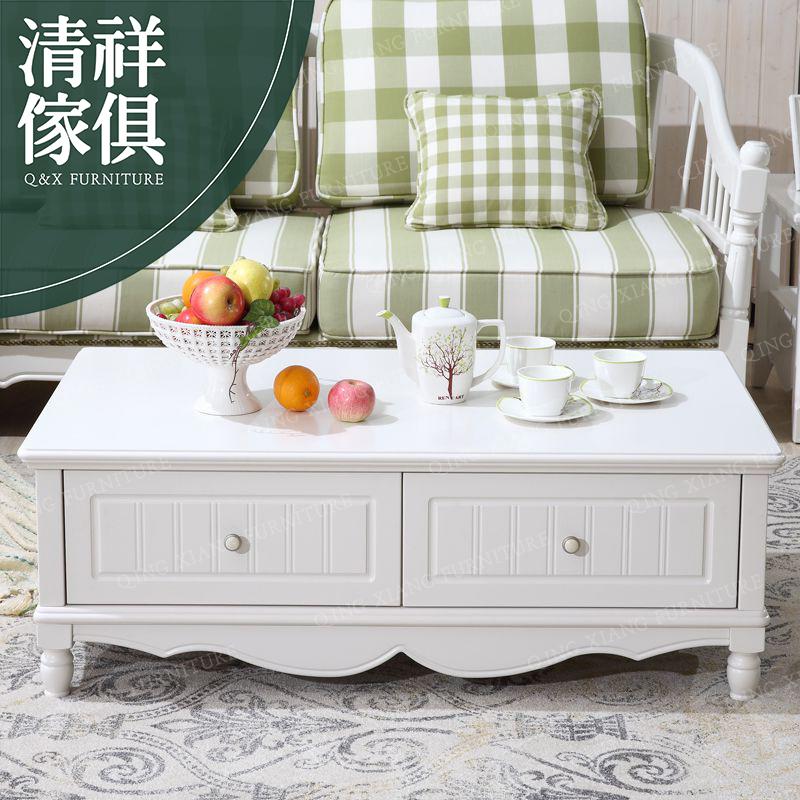 【清祥傢俱】MTY-901-韓式田園浪漫鄉村風茶几 桌(下標前,請先詢問有無現貨)