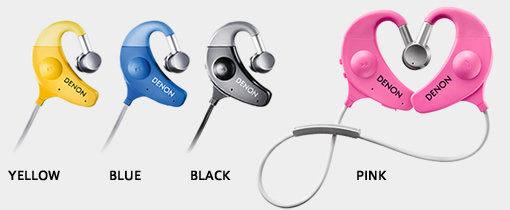 日本DENON EXERCISE FREAK運動潮人AH-W150耳道式藍牙無線運動耳機