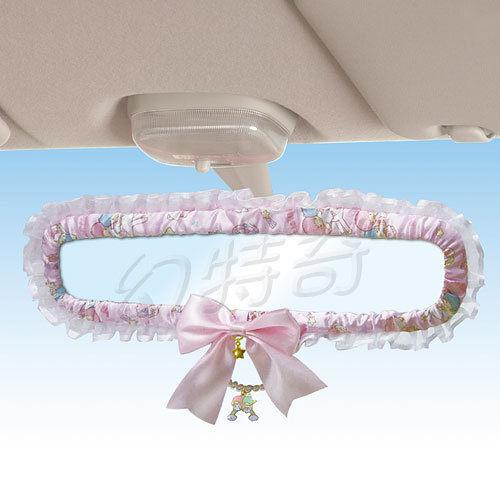 玩之內日本進口雙子星kikilala粉色多圖後視鏡後照鏡709672