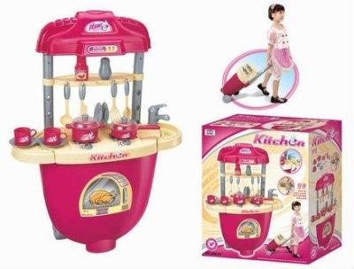 拉桿行李箱廚房組手提箱百變廚房組家家酒廚具組扮家家酒廚房組廚具組