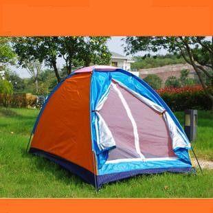單人 戶外 露營帳篷 超值款
