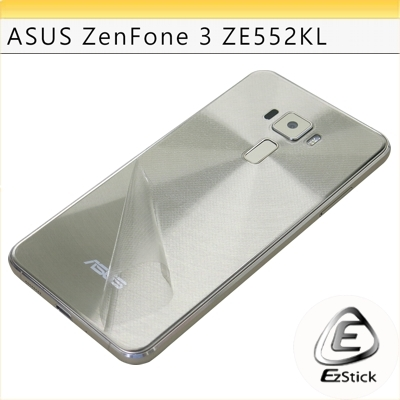 【Ezstick】ASUS Zenfone 3 ZE552 KL 專用 二代透氣機身保護貼(手機機身背貼)DIY 包膜