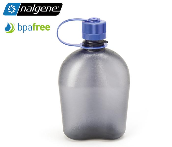 丹大戶外【Nalgene】軍式水壺 1000c.c. PC材質製造 耐用防漏 不含雙酚A 1777-9903 煙霧灰