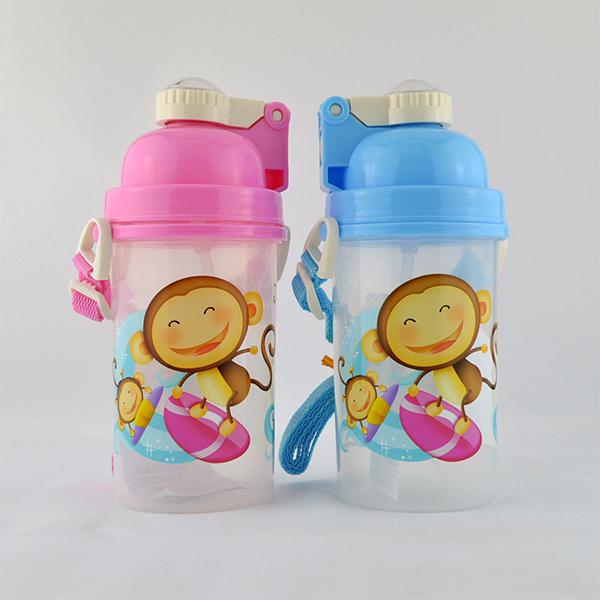 跳跳猴QQ水壺MJ-038 500mL兒童水壺