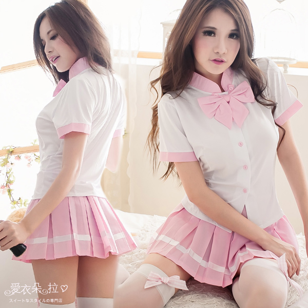 性感角色扮演服飾 一般尺碼制服 學生服 愛衣朵拉