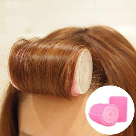 最新升級雙層瀏海自黏髮捲(2入一組) 梨花捲 內扣捲 不傷髮捲髮神器 美髮小物