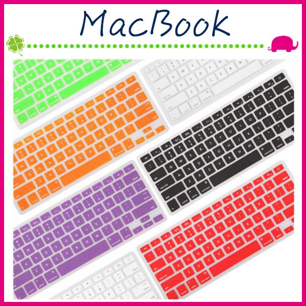 Apple MacBook Air Pro Retina糖果色筆電鍵盤膜彩色超薄TPU純英文按鍵膜筆記本電腦鍵盤保護膜