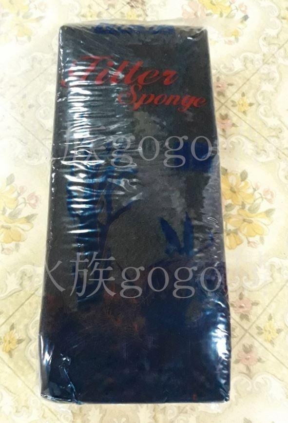 AQ王國黑色活性碳過濾棉單一包裝過濾棉濾水棉台灣製造另售1大袋裝80入超越螺旋棉