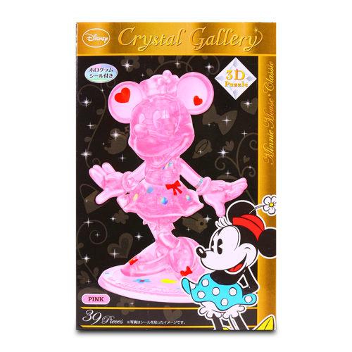 美國Disney迪士尼3D水晶拼圖-米妮HA06436
