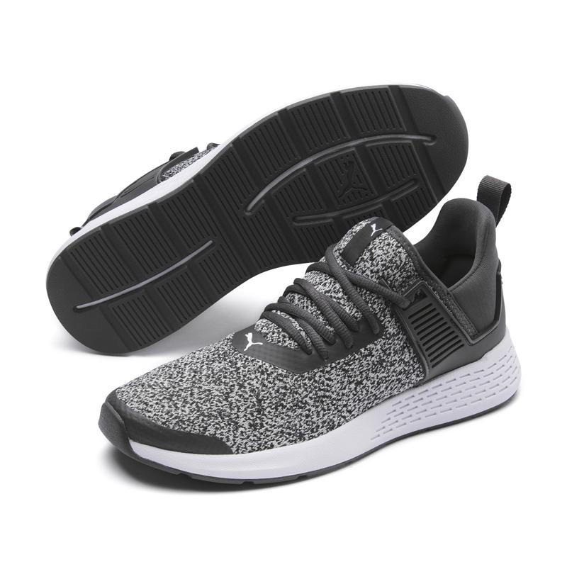 Puma Insurge 男鞋 灰 運動鞋 慢跑鞋 記憶鞋墊 套襪式 透氣網布 慢跑 健身 跑鞋 36948203