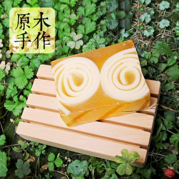 木樂館原木台檜和風肥皂盤台灣檜木瀝水盤置物盤居家衛浴雜貨
