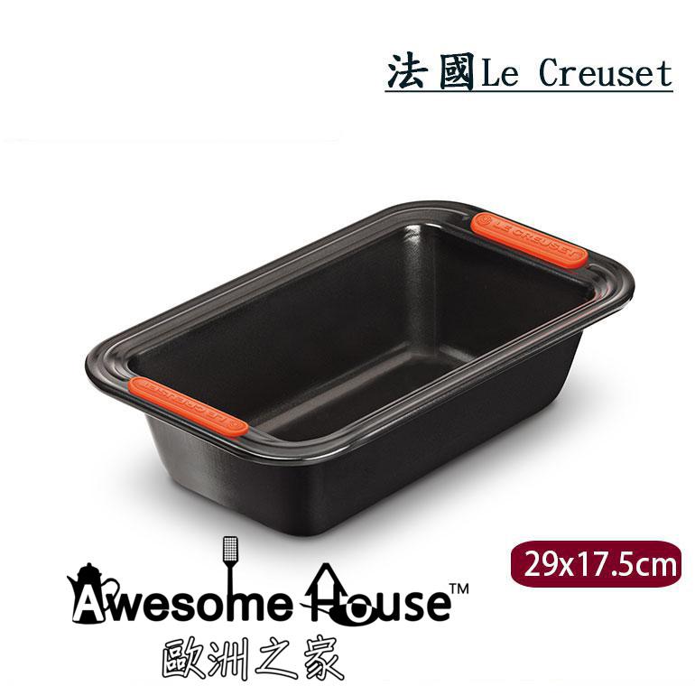 法國LE CREUSET方形不沾烤模29x17.5cm烤模烘焙烤箱用