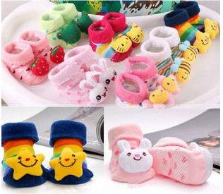 立體造型襪寶寶襪新生兒童防滑襪純棉地板襪嬰兒襪子.不挑款