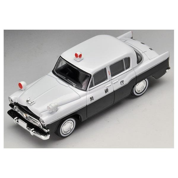 TOMYTEC小汽車 Toyota Patrol 1959東京警視廳巡邏車 LV-166a (白色) 28169