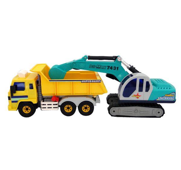 888便利購韓國進口砂石大卡車大怪手ST玩具百貨公司貨品質保證