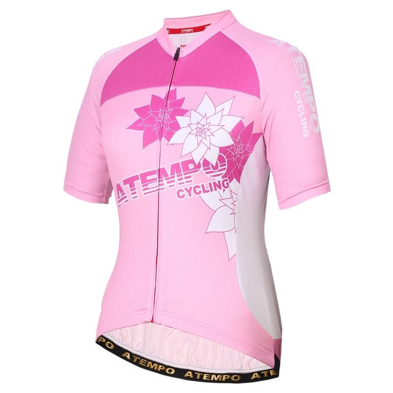 ATEMPO ARD進階系列女款短袖公路車衣粉綠黑粉紅色粉藍白女車衣