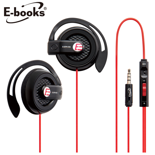E-books S39電競音控耳掛耳機麥克風