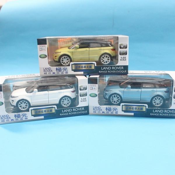 路華 LAND POVER 極光 合金車 (14號白盒)/一台入{促199} 1:35模型車 迴力車range rover evoque~生TOP315