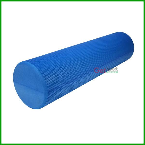 壓紋瑜珈柱60公分泡綿滾筒按摩滾筒美背60cm