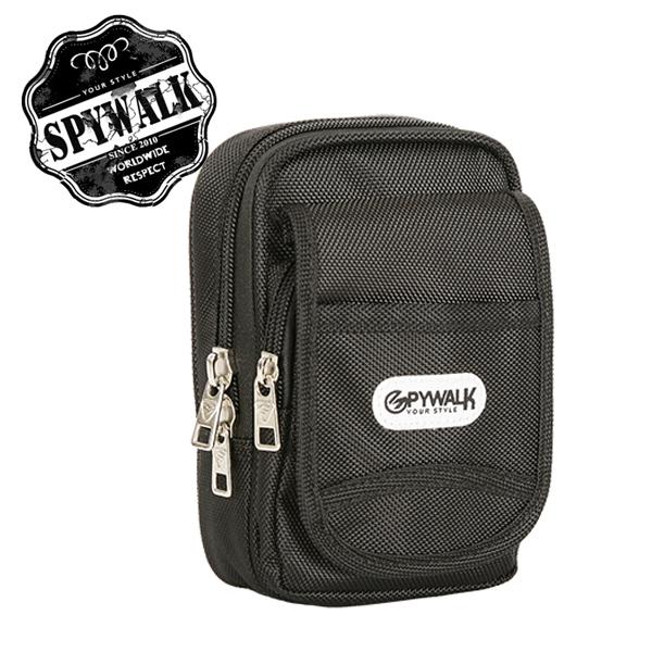 小包 SPYWALK加厚尼龍多彩隨身兩用可斜背可掛腰小包零錢包NO:2658