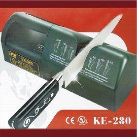 Nirey耐銳磨得利工業營業用電動磨刀機-Ke-280-220v贈磨刀輪x1組細砂紙x1組-台灣製