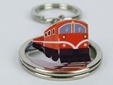 ☆猴子設計☆ 2270 阿里山小火車-立體鑰匙圈