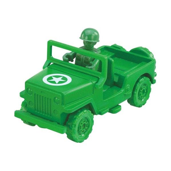 TOMICA玩具總動員05綠色小士兵&軍事車合金小公仔TOYeGO玩具e哥