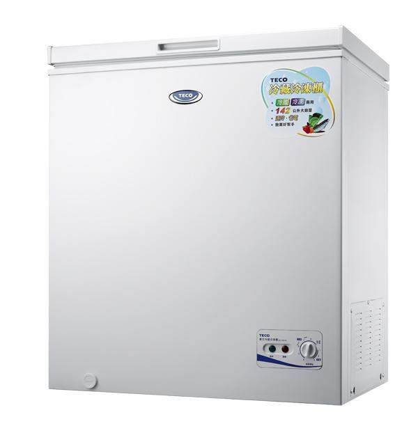 TECO 東元上掀式冷凍櫃 142公升 RL1481W 首豐家電