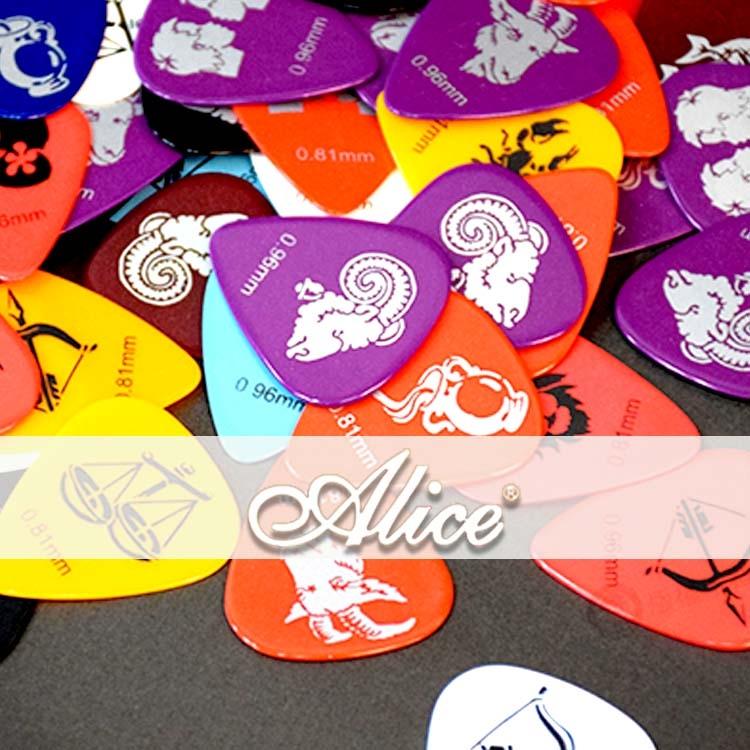 小麥老師樂器館彈片ALICE AP-C買1送1星座PICK撥片木吉他烏克麗麗電吉他C6