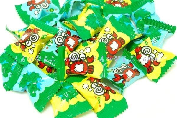 【吉嘉食品】綠得小螃蟹炮炮樂糖/泡泡樂可樂汽水糖 300公克40元[#300]{5121}
