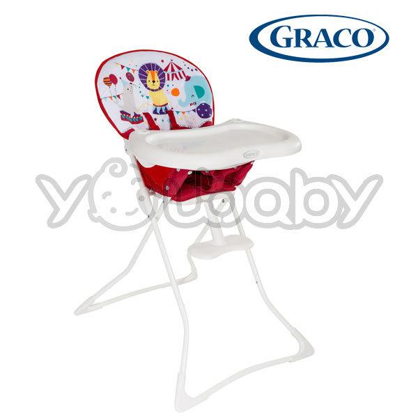 GRACO Tea Time 簡便型式高腳餐椅-馬戲團