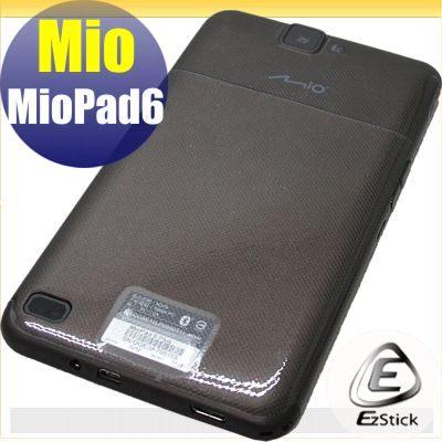 【EZstick】MioPad 6 系列專用 二代透氣機身保護貼(平板機身背貼)DIY 包膜