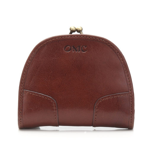 Omnia真皮魅力款馬蹄型珠扣零錢包OMC95005-02