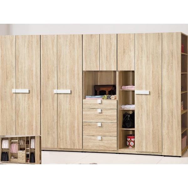 衣櫃 衣櫥 BT-34-34A 多莉絲10尺衣櫃【大眾家居舘】