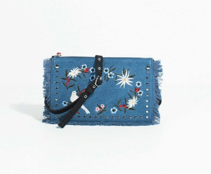 Denim Janes Cell Phone bag高級牛仔布料牛仔包丹寧包手機袋零錢包肩背斜背牛仔手機包