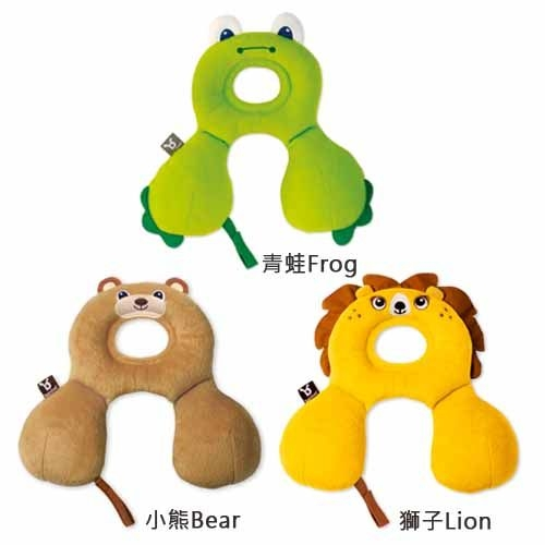 Benbat寶寶旅遊頸枕0-12個月青蛙獅子小熊衛立兒生活館