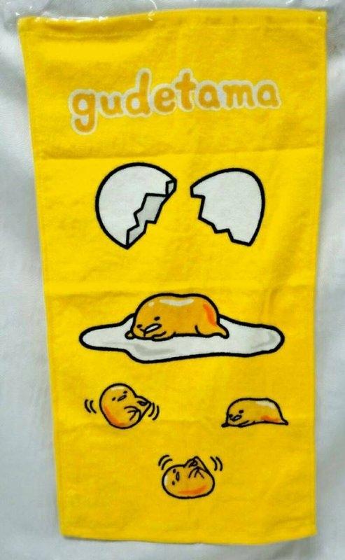【正版授權】蛋黃哥 童巾 小手帕 洗臉毛巾 兒童用